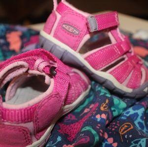 Pink Keen Sandals